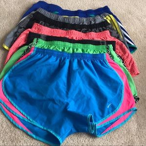 Lot of name brand athletic shorts